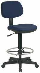 Office Star Fabric Workbench Stool [DC517] -1
