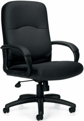 Offices To Go™ Executive Luxhide Leather Office Chair [11617B] -1