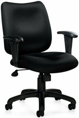 Offices To Go™ Managerial Mid Back Tilt Chair [11612] -1