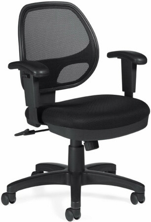 Offices To Go™ Mesh Back Office Chair [11647B] -1