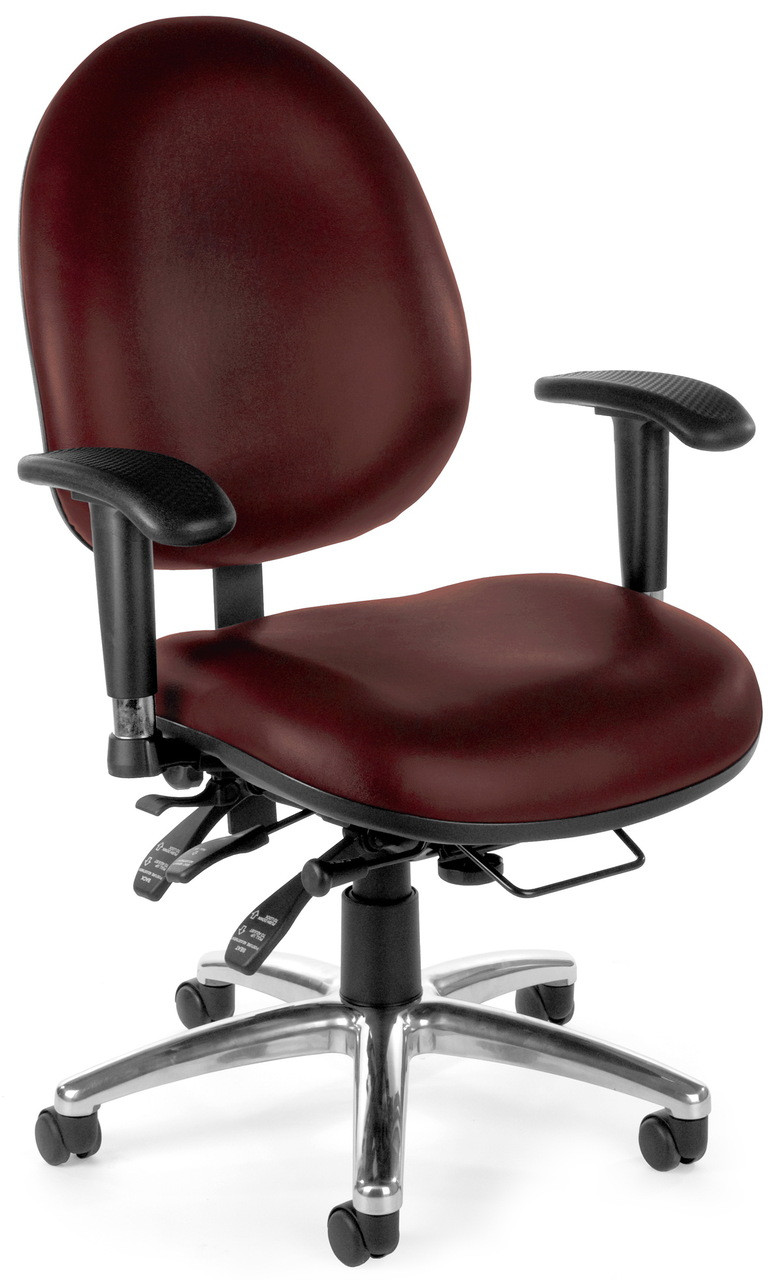 Awesome Ofm 24 Hour Rated Big And Tall Office Chair 247 Beutiful Home Inspiration Aditmahrainfo