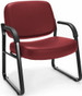 OFM Heavy Duty Vinyl Guest Chair with Arms [407-VAM] -2