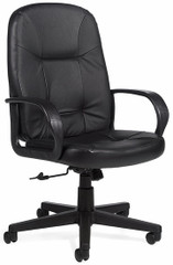 Global Arno Perforated Leather Office Chair [4003] -1