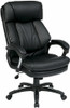 Plush Faux Leather Office Star Executive Chair [FL9097] -1