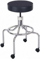 Safco High Base Adjustable Lab Stool [3433] -1