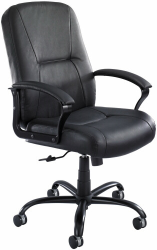 Safco Serenity™ High Back Leather Big and Tall Chair [3500] -1