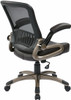 Screen Back Mesh Office Chair with Eco Leather Seat [EM35201] -2