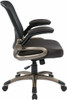 Screen Back Mesh Office Chair with Eco Leather Seat [EM35201] -4