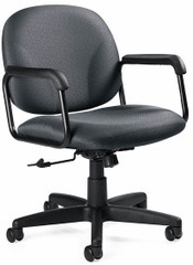 Global Solo Mid-Back Office Desk Chair [5228] -1