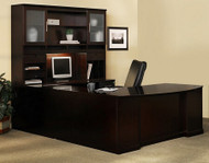 Sorrento U Shape Executive Office Desk with Hutch [ST5] -1