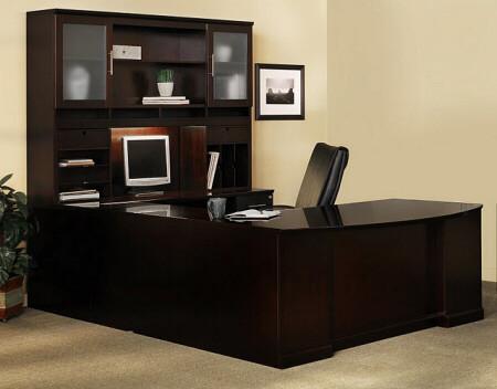 Sorrento U Shape Executive Office Desk with Hutch [ST5] -1