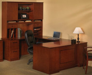 Sorrento U Shaped Executive Desk with Hutch [ST8] -1