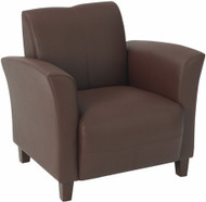 Wine Eco Leather Club Chair [SL2271] -1