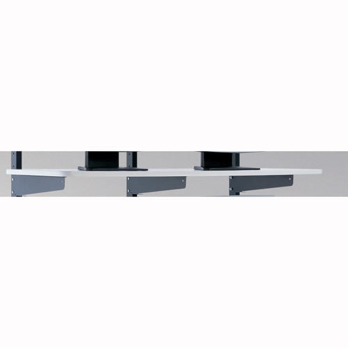 """Mayline LAN 48""""x20"""" Shelf Graphite / Charcoal [2204818EZ]-1"""