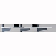 "Mayline LAN 48""x20"" Shelf Graphite / Charcoal [2204818EZ]-1"