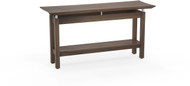 "Mayline Sterling 58"" Rectangle Sofa Table Textured Brown Sugar [STSTTBS]-1"
