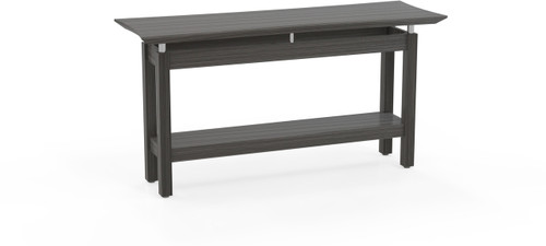 "Mayline Sterling 58"" Rectangle Sofa Table Textured Driftwood [STSTTDW]-1"