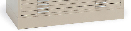 """Mayline C-Files Flush Base for 36""""x48"""" Sheets Sand Beige [7869WD5]-1"""