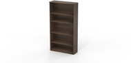 Mayline Medina Bookcase 5 Shelf Textured Brown Sugar [MVB5TBS]-1