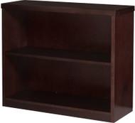 "Mayline Mira Bookcase 29""H Espresso Veneer [MBC3629ESP]-1"