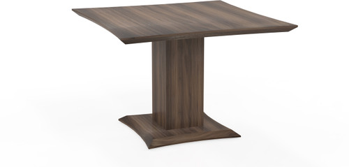 """Mayline Sterling 42"""" Square Conference Table Textured Brown Sugar [STC42TBS]-1"""