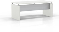 "Mayline Medina 72"" Rectangle Straight Desk Textured Sea Salt [MNDS72TSS]-1"