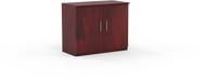 """Mayline Medina 36"""" Storage Cabinet, Wood Doors Mahogany [MSCLMH]-1"""