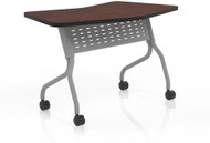 "Mayline Sync 24"" x 48"" Transition Table Regal Mahogany [SYT24TRMH]-1"