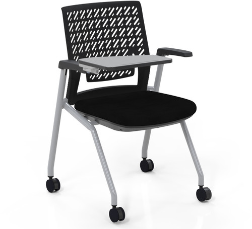 Mayline Thesis Training Chair Arms, Tablet, Flex Back [KTX3SBBLK]-1