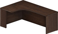 "Mayline Aberdeen 72"" Left Extended Corner Table Mocha [AEC72LLDC]-1"