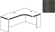 "Mayline Aberdeen 72"" Right Extended Corner Table Gray Steel [AEC72RLGS]-1"