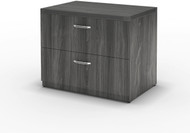 "Mayline Aberdeen 36"" Freestanding Lateral File Gray Steel [AFLF36LGS]-1"
