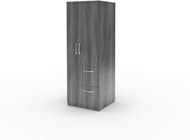 Mayline Aberdeen Personal Storage Tower Gray Steel [APSTLGS]-1