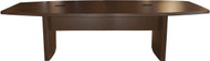 Mayline Aberdeen 8' Conference Table, Boat Mocha [ACTB8LDC]-1