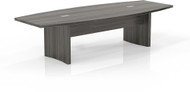 Mayline Aberdeen 10' Conference Table, Boat Gray Steel [ACTB10LGS]-1