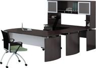 Mayline Medina Office Desk Set Mocha [MNT35LDC]-1