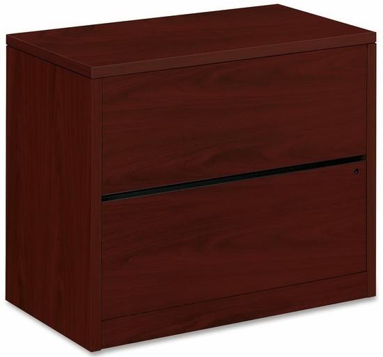 HON 2 Drawer File Cabinet Laminate Finish [10563]  1