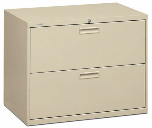 "36"" 2 Drawer HON Lateral File Cabinet [582L] -1"