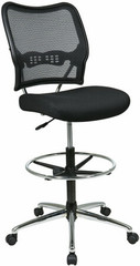 Air Grid Back Mesh Drafting Stool [13-37P500D] -1