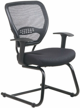 Air Grid Back Mesh Guest Chair [5505] -1