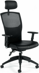 ALERO™ Ergonomic Mesh Office Chair with Headrest [1960LM-3] -1