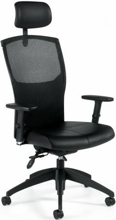 ALERO™ Ergonomic Mesh Office Chair with Headrest [1960LM-3] -1