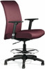 All Seating Zip Upholstered Drafting Chair [92019] -1