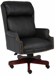 Boss Caressoft Traditional Tufted Office Chair [B980] -1