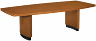 Basyx Boat Shaped Conference Room Table [BS96T2] -1