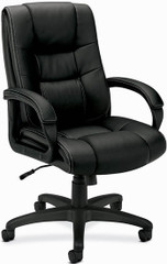Basyx Faux Leather Vinyl Exeuctive Chair [VL131] -1