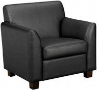 Basyx Leather Club Chair [VL871] -1