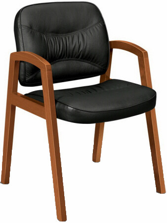 Basyx™ Wood Finish Office Guest Chair [VL803] -1