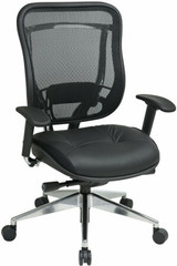 Big and Tall Ergonomic Mesh Chair [818A-41P9C] -1
