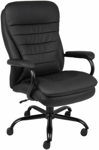 Boss CaressoftPlus Heavy Duty Big and Tall Office Chair [B991] -1